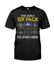 AVIATION PILOT GIFT - SIX PACK Classic T-Shirt tile