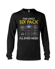AVIATION PILOT GIFT - SIX PACK Long Sleeve Tee tile