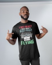 AVIATION RELATED GIFTS - FLYING PASSION Classic T-Shirt apparel-classic-tshirt-lifestyle-front-32