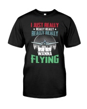 AVIATION RELATED GIFTS - FLYING PASSION Classic T-Shirt front