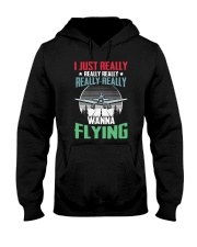 AVIATION RELATED GIFTS - FLYING PASSION Hooded Sweatshirt thumbnail