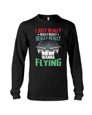 AVIATION RELATED GIFTS - FLYING PASSION Long Sleeve Tee thumbnail