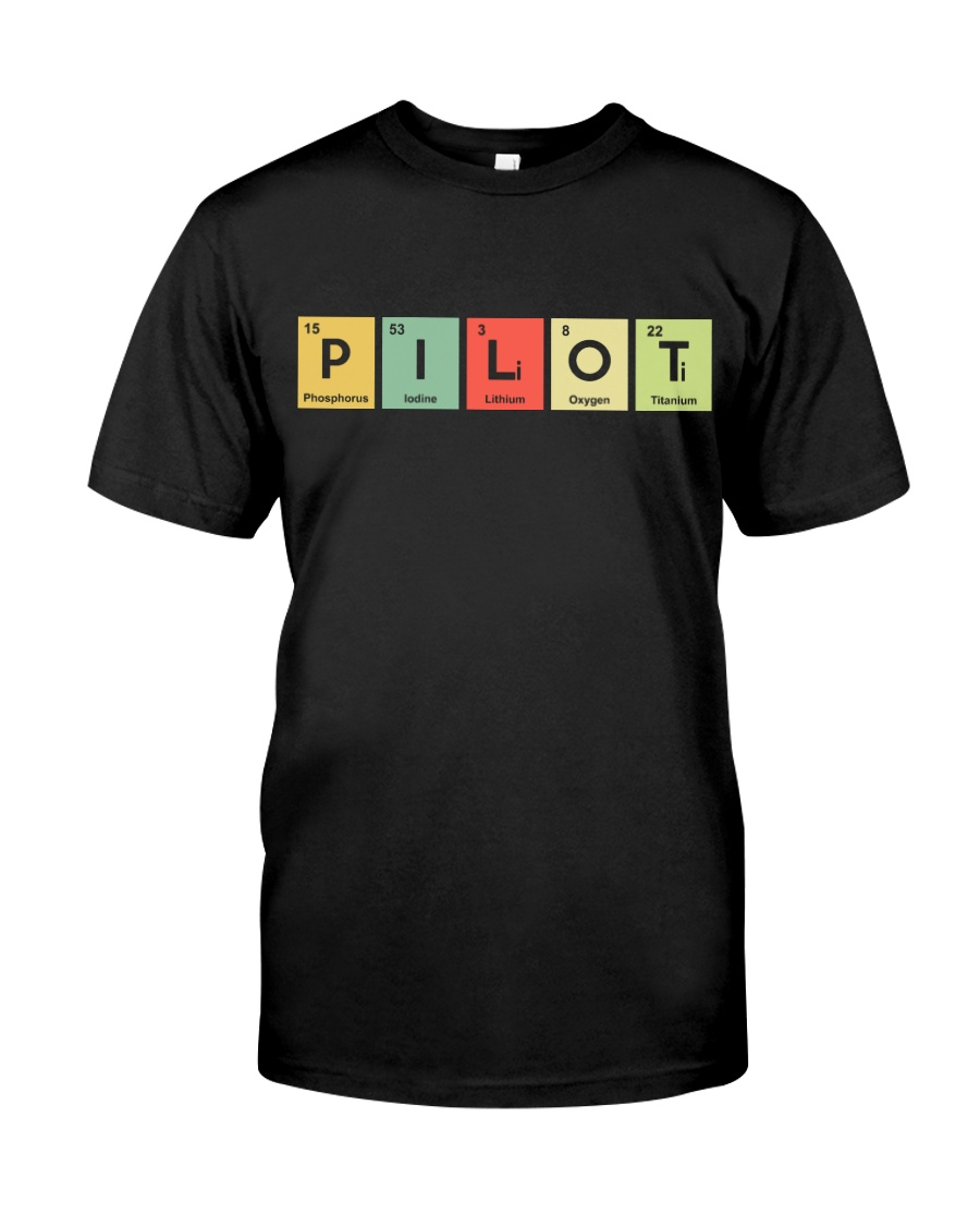AVIATION RELATED GIFTS - PILOT ELEMENTS Classic T-Shirt