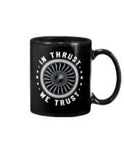 AVIATION LOVERS - IN THRUST WE TRUST Mug thumbnail