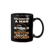 PONTOON BOAT GIFT - OCTOBER PONTOON MAN Mug thumbnail