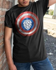 BREWE BREWERY CLOTHING - HOP SHIELD Classic T-Shirt apparel-classic-tshirt-lifestyle-27