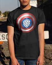 BREWE BREWERY CLOTHING - HOP SHIELD Classic T-Shirt apparel-classic-tshirt-lifestyle-29