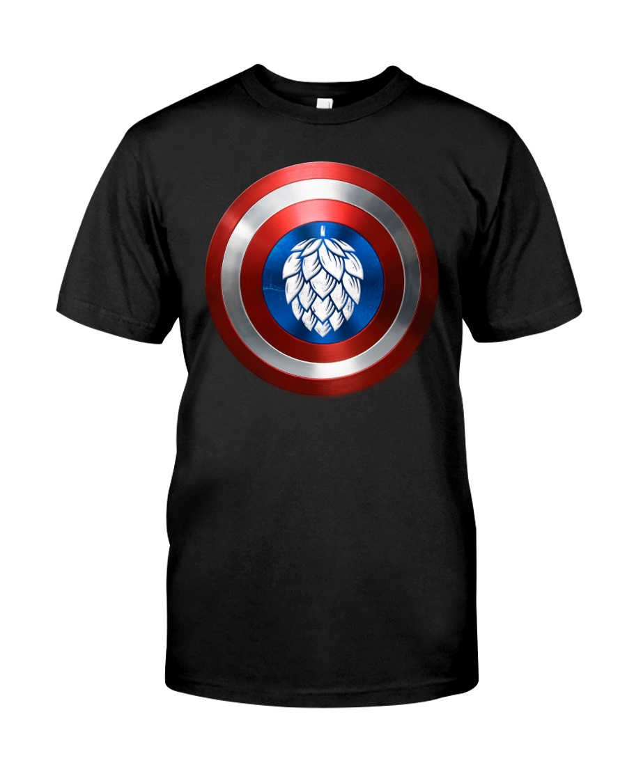 BREWE BREWERY CLOTHING - HOP SHIELD Classic T-Shirt