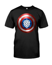 BREWE BREWERY CLOTHING - HOP SHIELD Classic T-Shirt thumbnail