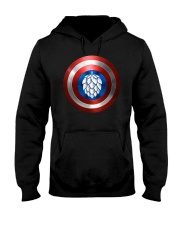 BREWE BREWERY CLOTHING - HOP SHIELD Hooded Sweatshirt thumbnail