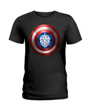 BREWE BREWERY CLOTHING - HOP SHIELD Ladies T-Shirt thumbnail
