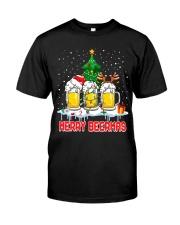 B - MERRY CHRISTMAS Classic T-Shirt thumbnail