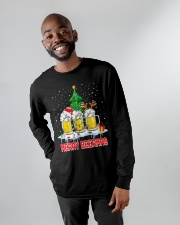 B - MERRY CHRISTMAS Long Sleeve Tee apparel-long-sleeve-tee-lifestyle-front-14
