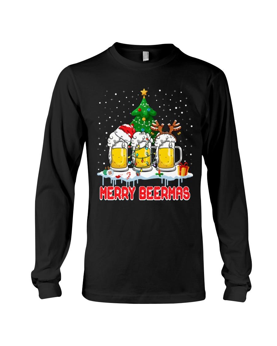 B - MERRY CHRISTMAS Long Sleeve Tee