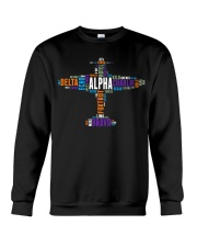 PILOT GIFT - THE AVIATION COLORFUL ALPHABET  Crewneck Sweatshirt thumbnail