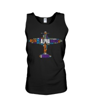 PILOT GIFT - THE AVIATION COLORFUL ALPHABET  Unisex Tank thumbnail