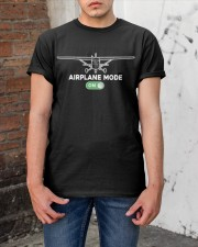 FUNNY FLYING PLANE - TURN ON AIRPLANE MODE Classic T-Shirt apparel-classic-tshirt-lifestyle-31