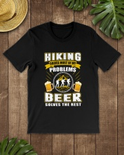CRAFT BEER LOVER - BEER AND HIKING Classic T-Shirt lifestyle-mens-crewneck-front-18
