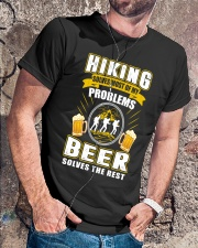 CRAFT BEER LOVER - BEER AND HIKING Classic T-Shirt lifestyle-mens-crewneck-front-4