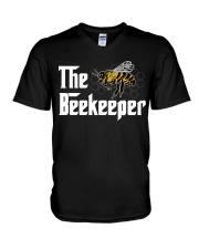 THE BEEKEEPER V-Neck T-Shirt thumbnail