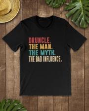 TRULY DRINK - DRUNCLE  Classic T-Shirt lifestyle-mens-crewneck-front-18