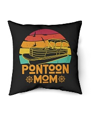 "PONTOON BOAT GIFT - PONTOON MOM Indoor Pillow - 16"" x 16"" thumbnail"