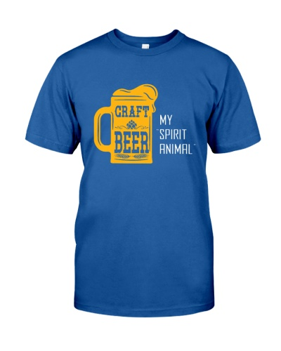 BREWERY CLOTHING - CRAFT BEER IS MY SPIRIT ANIMAL