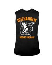 DUCKAHOLIC HOOKED ON QUACK Sleeveless Tee thumbnail