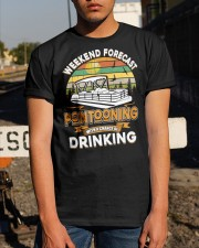PONTOON LOVER - CHANCE OF DRINKING Classic T-Shirt apparel-classic-tshirt-lifestyle-29