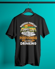 PONTOON LOVER - CHANCE OF DRINKING Classic T-Shirt lifestyle-mens-crewneck-front-3