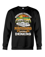 PONTOON LOVER - CHANCE OF DRINKING Crewneck Sweatshirt thumbnail