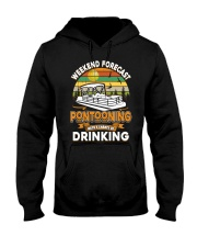 PONTOON LOVER - CHANCE OF DRINKING Hooded Sweatshirt thumbnail