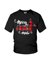 AVIATION PILOT GIFT - MERRY CHRISTMAS Youth T-Shirt thumbnail