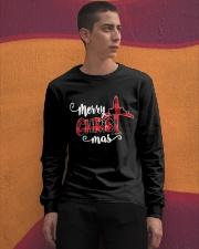AVIATION PILOT GIFT - MERRY CHRISTMAS Long Sleeve Tee apparel-long-sleeve-tee-lifestyle-04