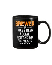 BREWER I HAVE BEEN SOCIAL DISTANCING FOR YEARS Mug thumbnail