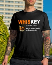 WHISKEY DEFINITION Classic T-Shirt lifestyle-mens-crewneck-front-8