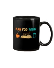PONTOON BOAT GIFT - PONTOON PLAN FOR TODAY Mug thumbnail