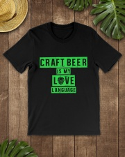 CRAFT BEER LOVER - BEER LANGUAGE Classic T-Shirt lifestyle-mens-crewneck-front-18