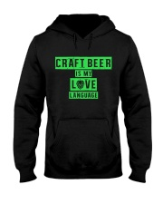 CRAFT BEER LOVER - BEER LANGUAGE Hooded Sweatshirt tile