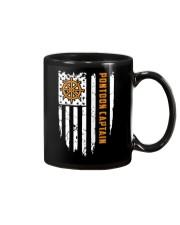 PONTOON BOAT GIFT - CAPTAIN FLAG Mug thumbnail