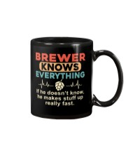 He - A Brewer Knows Everything Mug thumbnail