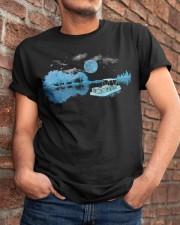 PONTOON BOAT GIFT - WHISPER Classic T-Shirt apparel-classic-tshirt-lifestyle-26