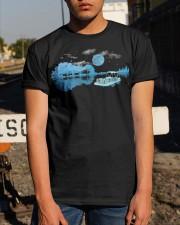 PONTOON BOAT GIFT - WHISPER Classic T-Shirt apparel-classic-tshirt-lifestyle-29