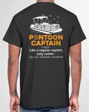 PONTOON CAPTAIN DEFINITION BACK Classic T-Shirt garment-tshirt-unisex-back-04