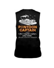 PONTOON CAPTAIN DEFINITION BACK Sleeveless Tee thumbnail