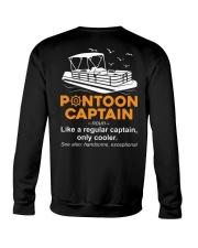 PONTOON CAPTAIN DEFINITION BACK Crewneck Sweatshirt thumbnail