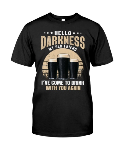 CRAFT BEER LOVER - HELLO DARKNESS MY OLD FRIEND