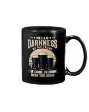 CRAFT BEER LOVER - HELLO DARKNESS MY OLD FRIEND Mug thumbnail