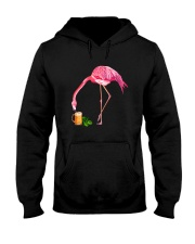TRULY DRINK - FLAMINGO WITH BEER Hooded Sweatshirt thumbnail