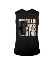 HELLO DARKNESS MY OLD FRIEND Sleeveless Tee thumbnail